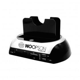 DOCKING STATION HOOPSON DOCK-001 USB 2.0 PARA HDD SATA 2.5 / 3.5