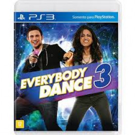 JOGO PS3 EVERYBODY DANCE 3