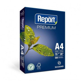 PAPEL A4 REPORT PREMIUM 210X297MM 75G 500 FLS