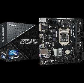 PLACA MAE ASROCK H310CM-HG4  8ª E 9ª GERACAO DDR4 2666 VGA HDMI LGA 1151