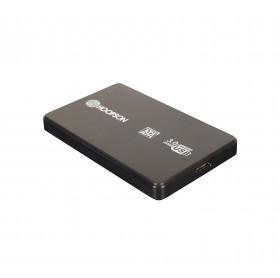 GAVETA EXTERNA HOOPSON CHD-005 HDD/SSD 2.5 USB 3.0 PRETA