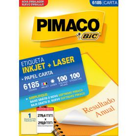 ETIQUETA PIMACO 6185 MOD.1 CARTA 100 FOLHAS