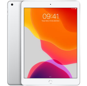 IPAD 7 APPLE 32GB WI-FI PROC. A10 FUSION TELA 10.2 PRATA MW752BZ/A
