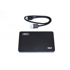 GAVETA EXTERNA USB 3.0 PARA HD 2.5 SATA KNUP KP-HD013 PRETA