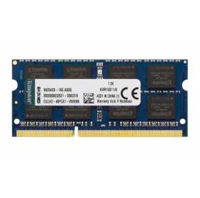 MEMORIA 8GB NOTEBOOK KINGSTON DDR3 FSB1600 KVR16S11/8