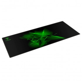 MOUSE PAD GAMING T-DAGGER T-TMP301 GEOMETRY-L 780X300X3MM PRETO/VERDE
