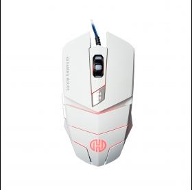MOUSE USB GAMING HOOPSON MS-030B RGB 2400DPI BRANCO