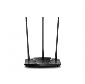 ROTEADOR WIRELESS N MERCUSYS MW330HP 300MBPS HIGH POWER 3 ANTENAS FIXAS DE 7 DBI