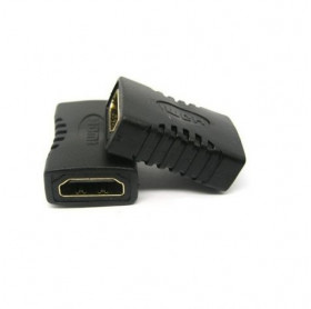 ADAPTADOR HDMI FEMEA PARA HDMI FEMEA PRETO GVBRASIL ADT.008