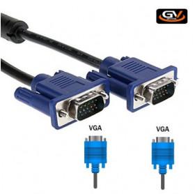 CABO VGA DB15 MACHO/DB15 MACHO 1.8MT GV BRASIL CBV.180