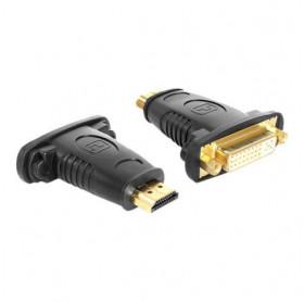 ADAPTADOR HDMI MACHO PARA DVI FEMEA PRETO GVBRASIL ADT007