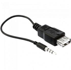 CABO USB FEMEA PARA P2 MACHO GVBRASIL CBU.007