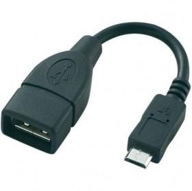CABO USB (OTG) AF X MICRO USB 5P (V8) 10CM GVBRASIL CBU.140