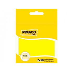NOTA ADESIVA COLORIDA PIMACO 76X76 C/2UND 50FLS