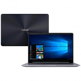 NOTEBOOK ASUS VIVOBOOK X510U INTEL CORE I5-8250U/4GB/1TB/15.6/W.10/CINZA