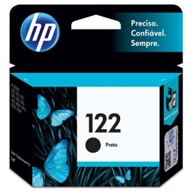 CARTUCHO HP 122 2ML CH561HB PRETO D1000/D2050/D3050