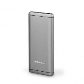 BATERIA PORTATIL 7500MAH ARGOM ELITE 2 USB 5V/2.1A/1A PRATA ARG-PB-1125SL