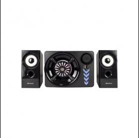 CAIXA DE SOM USB HOOPSON RBM-014 110W RMS BLUETOOTH AUX/USB/MICRO SD/FM PRETA