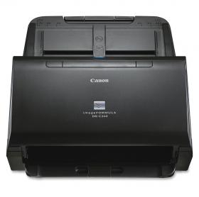 SCANNER DE MESA CANON USB DR-C240 A4 DUPLEX 45PPM 600DPI PRETO