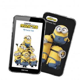 """Tablet Infantil Positivo Minions 32GB Twist Tab T770KM Minions 7"""" 1GB RAM"""