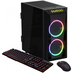 COMPUTADOR FLYPC GAMER AMD RYZEN 3 3200G/8GB/SSD480/GTX1650-4GB/R500W/LINUX