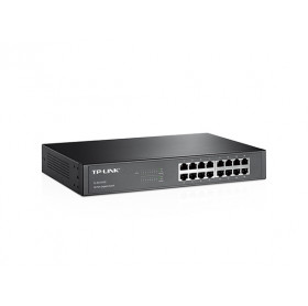 SWITCH GIGABIT 16 PORTAS TP-LINK TL-SG1016D 10/100/1000 DESKTOP