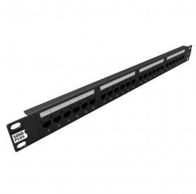 PATCH PANEL 24 PORTAS CAT.6E SOHOPLUS T568A/B 35050402